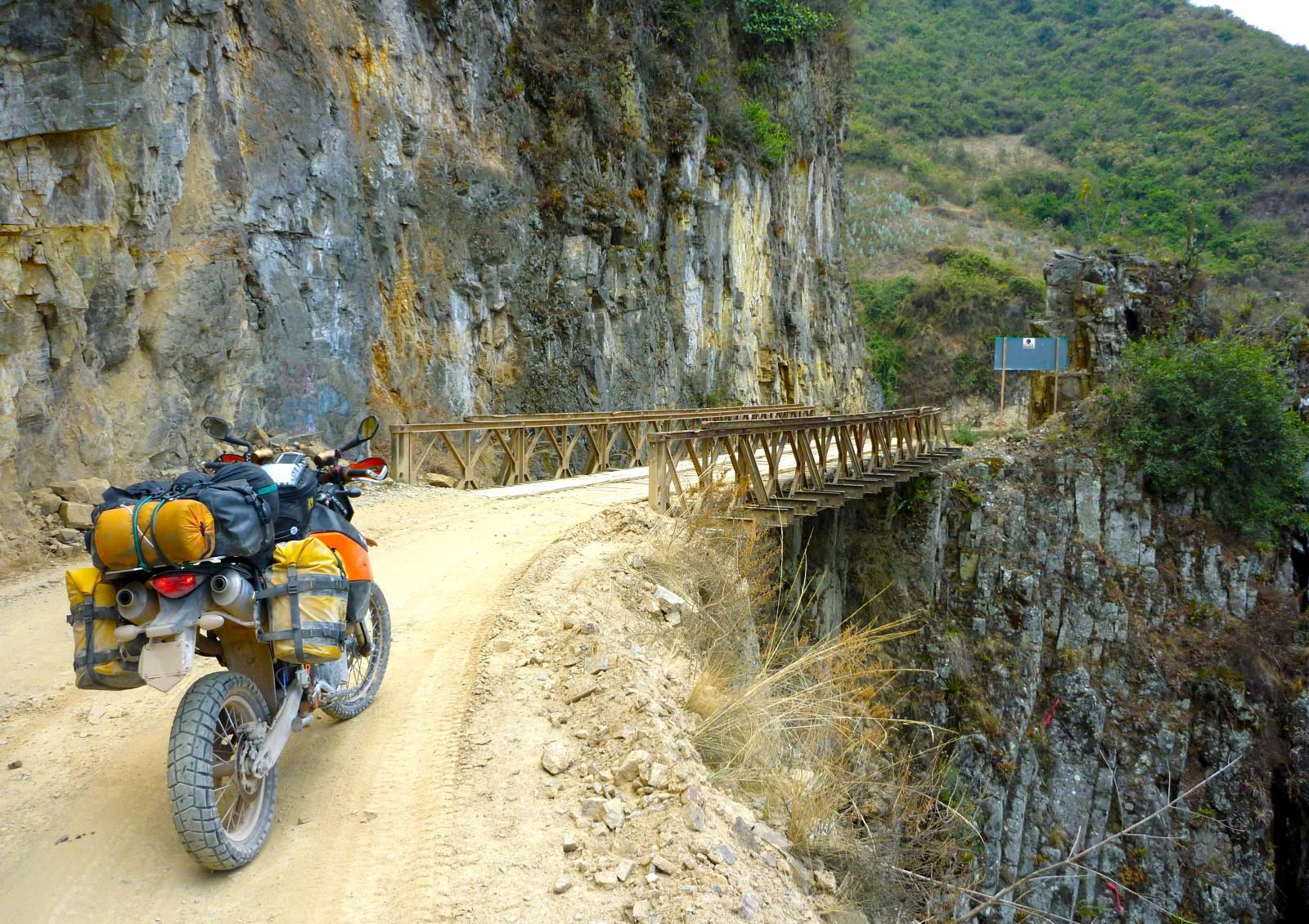 Little bridge big gorge