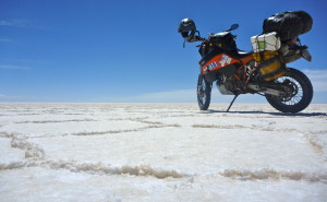 Super Enduro on the Salar